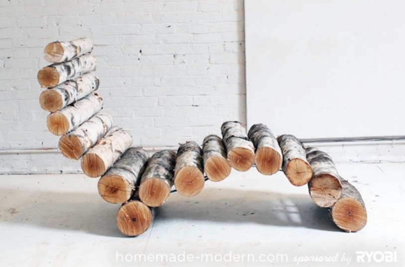 Fantastic Log Lounger