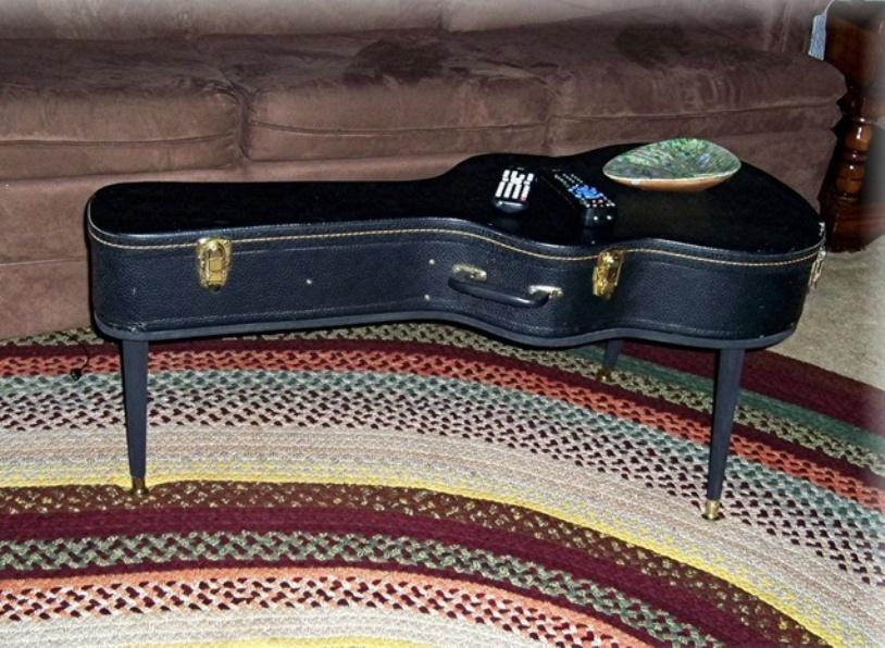 Guitar Coffee Table