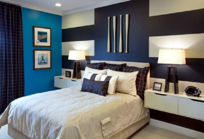 Large Striped Color Wall