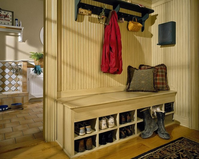 Laundry Room And Mudroom Rolled Into One