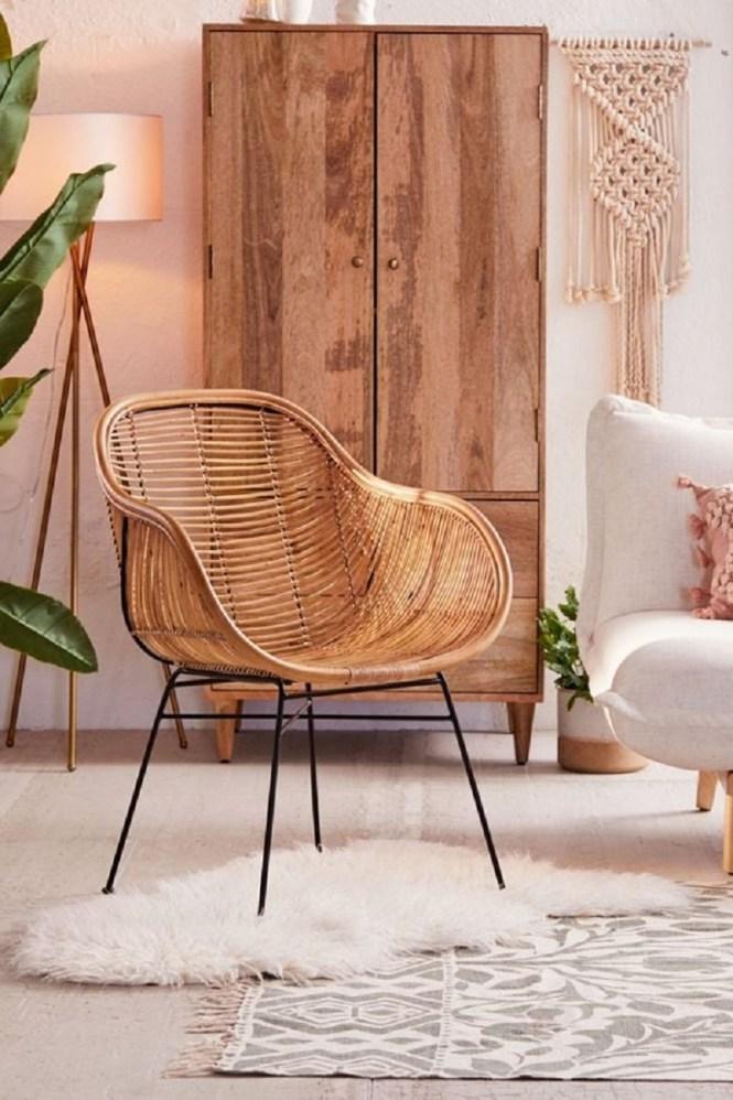 Lillian Rattan Chair