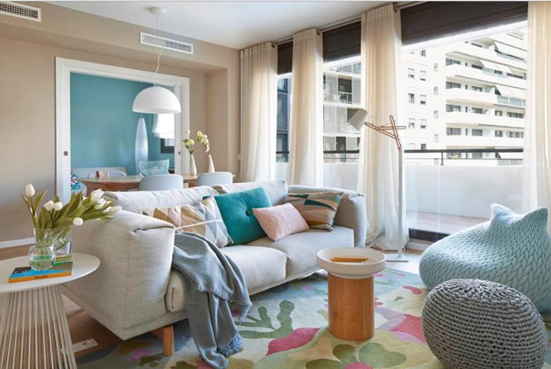 Living Room For Condominium