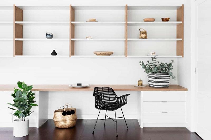 Plenty Storage Scandinavian Home Office