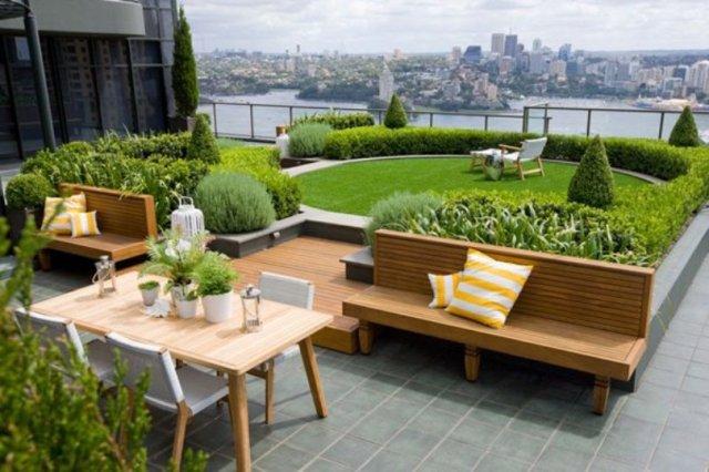 Rooftop Garden Inner City