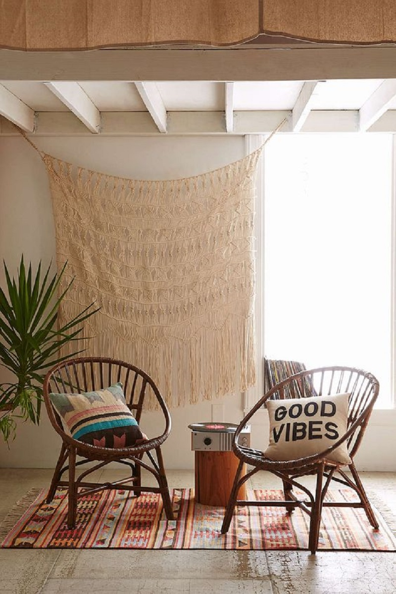 Sattie Rattan For A Dreamy Corner