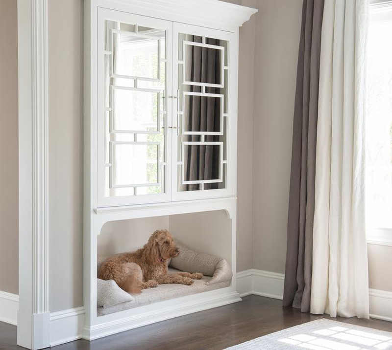 Built In Recessed Dog Bed