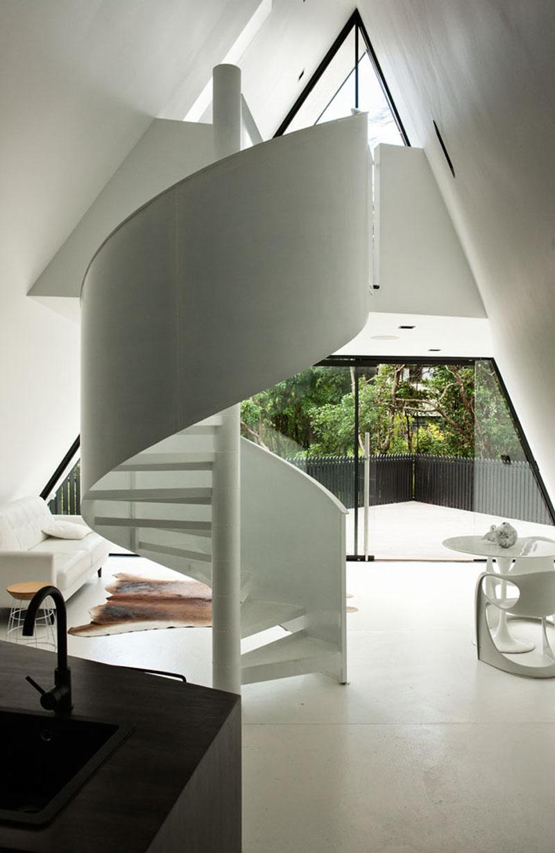 Cabin Spiral Stairs