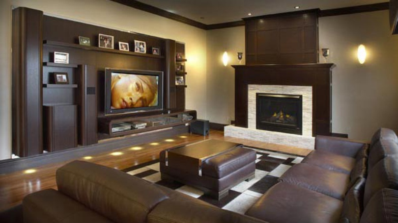 Home Theater And Living Room