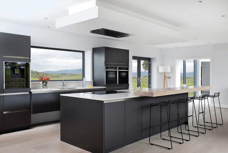 Minimal Kitchen With View