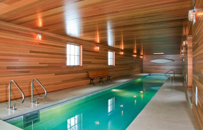 Spa Like Indoor Pool