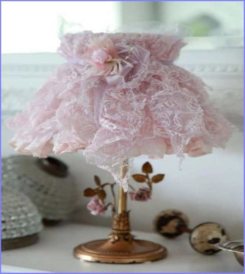 Using Lace Cloth