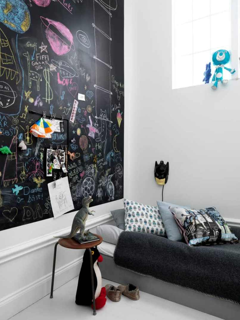 Your Walls With Chalkboard Paint