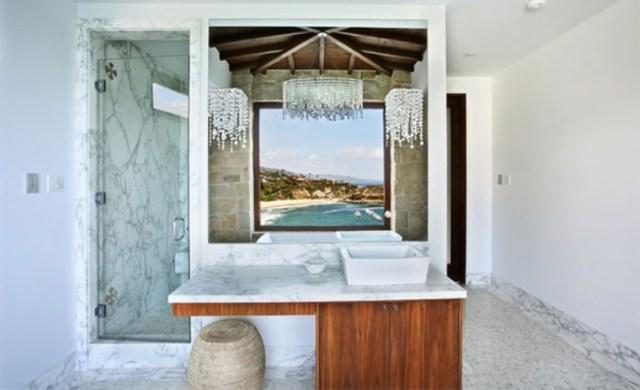 Ancient White Bathroom