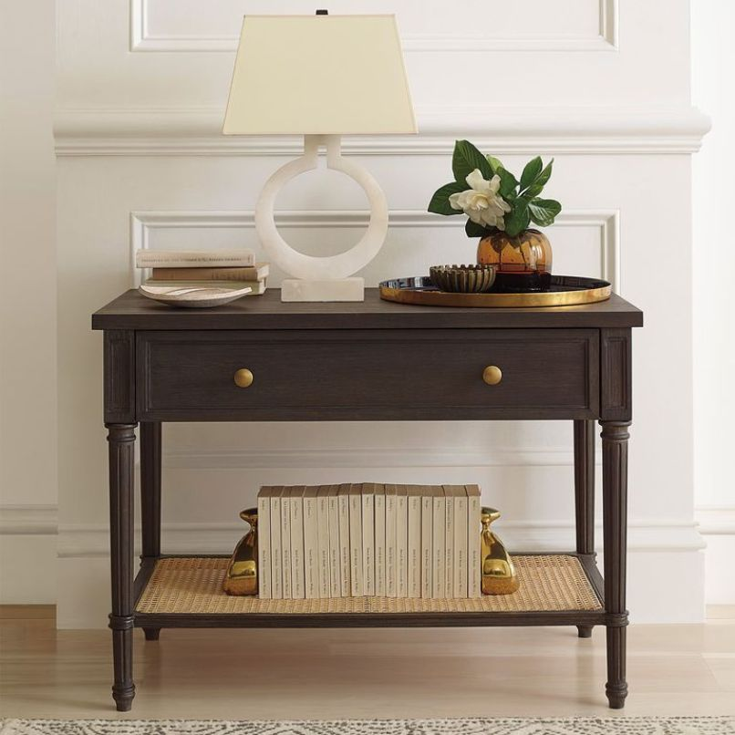 Cane Nightstand