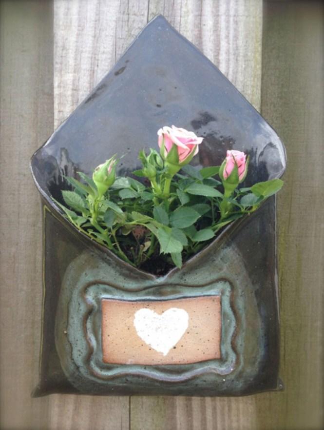 Ceramic Wall Hung Planter