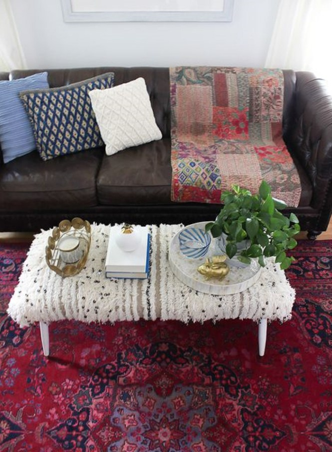 Cover Coffee Table Ottoman