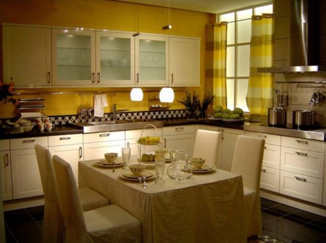 Elegant White Dining Room