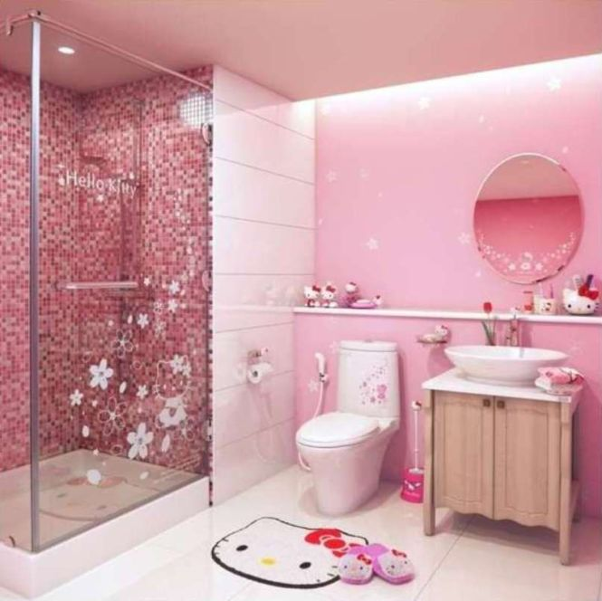 Hello Kitty Bathroom