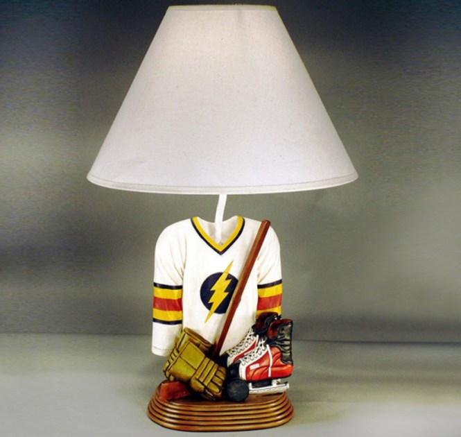 Hockey Jersey Kids Table Lamp