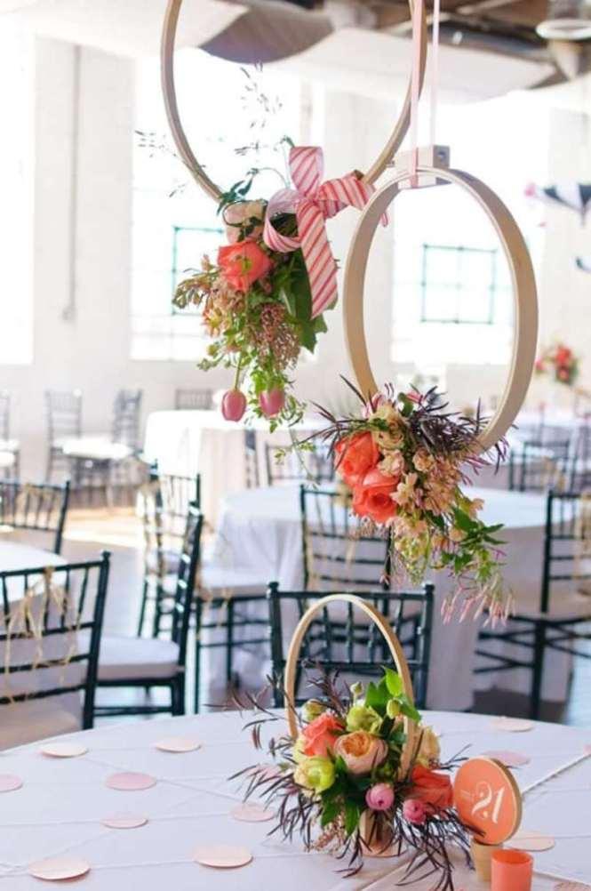 Hula Hoop For Wedding Decoration