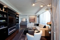 Long Living Room With Slimmer Materials