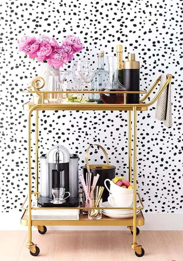 Trendy Drink Serving Table