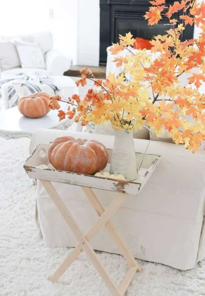 A Vintage Fall Display