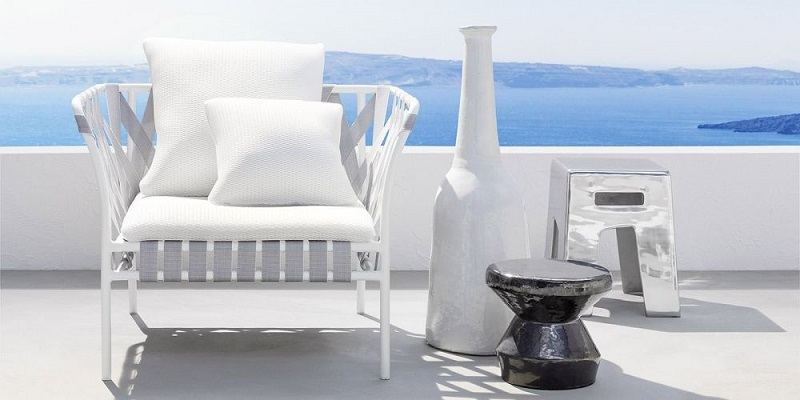 Ceramic Stool Coffee Side Table For Outdoor