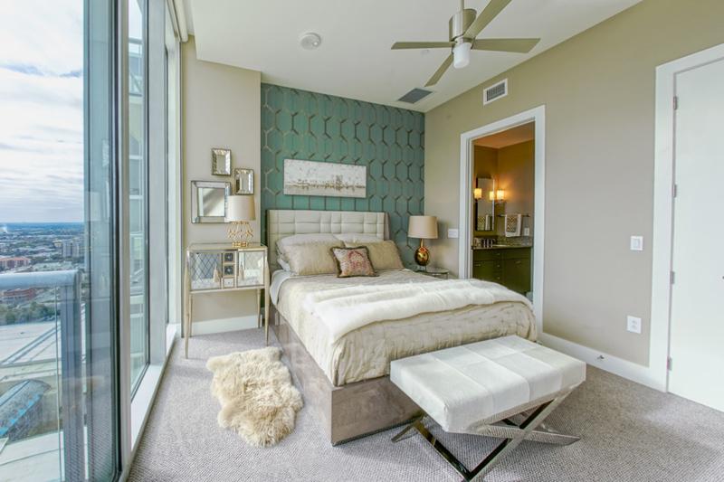 Classy And Luxurious Condo Bedroom