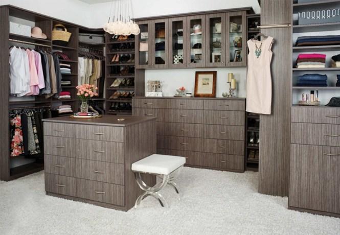 Clean Modern Feel Closet