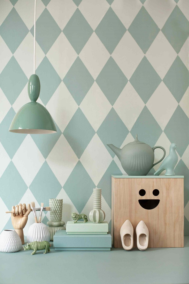 Harlequin Wall Pattern