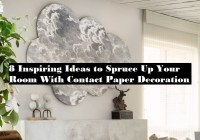 8 Inspiring Ideas To Spruce Up Your Room With Contact Paper Decoration
