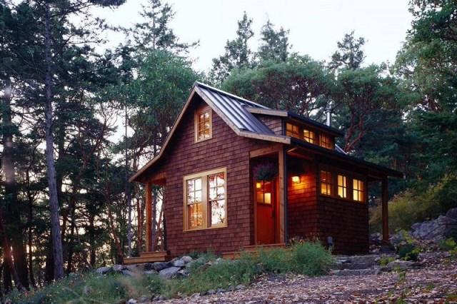 Craftsman Inspired Cabin