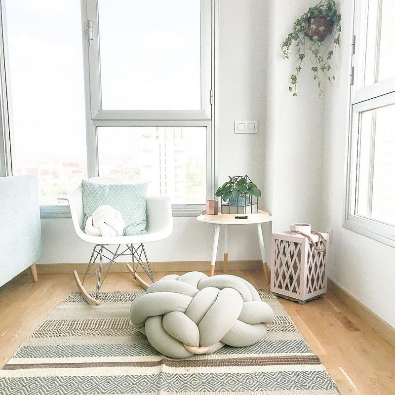 Meditation Space With Soft Color