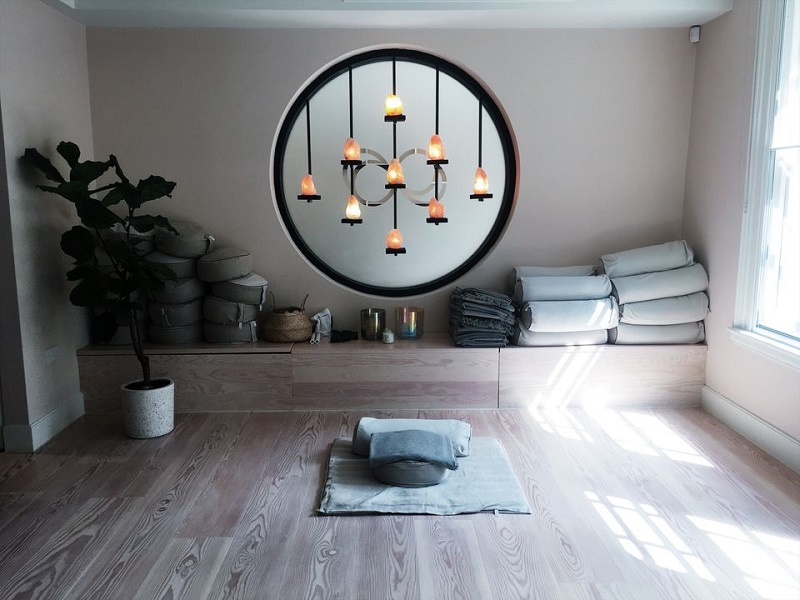 Relaxing Meditation Space