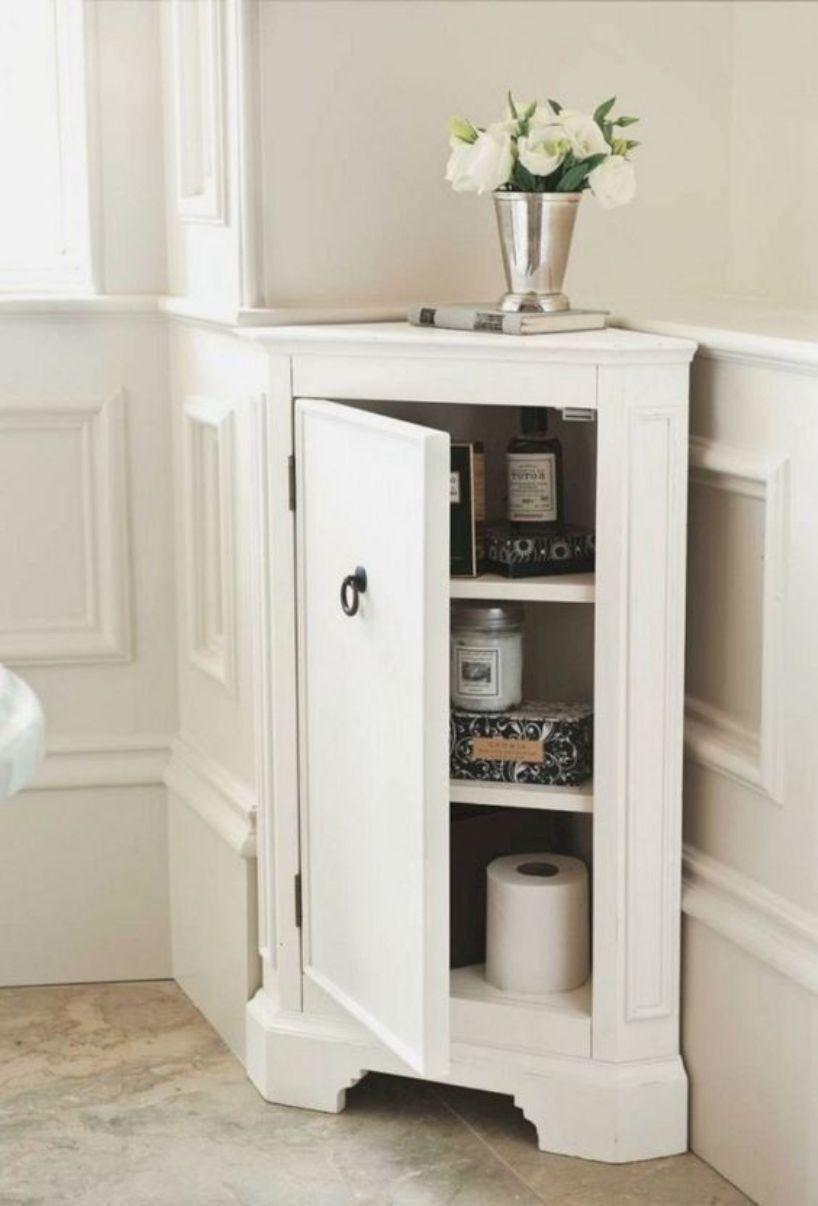Stylish Tiny Corner Cabinet