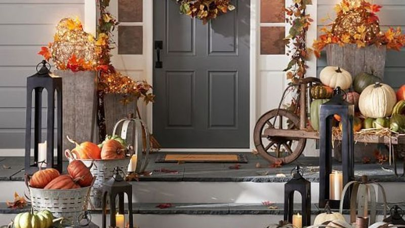 30 The Whole Gorgeous Fall Farmhouse Decoration to Welcome the Season
