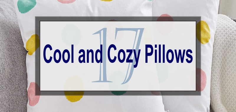 Make Your Own Comfortable Family Room with These 17 Cool and Cozy Pillows