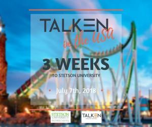 talken in the usa 3 weeks