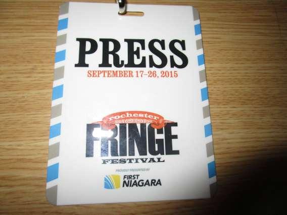 Fringe Press Pass