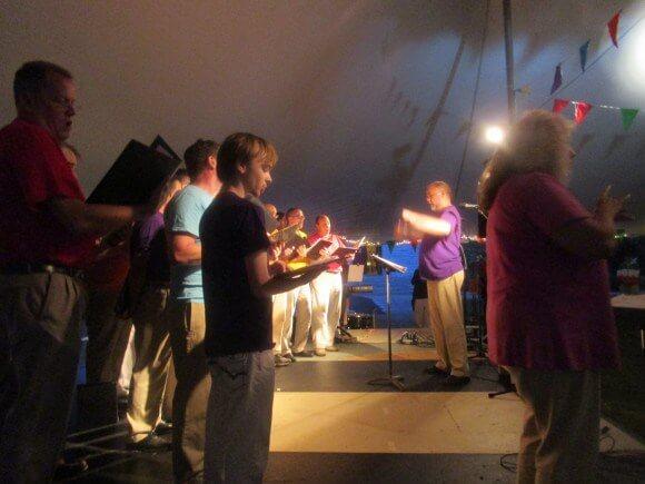 Dreaming of Big Tents at Asbury First