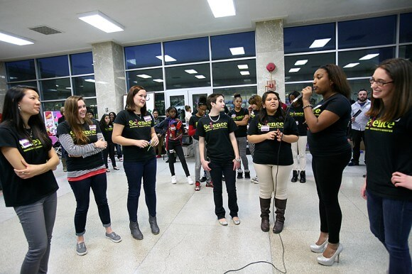 Fostering community through a love of science at East