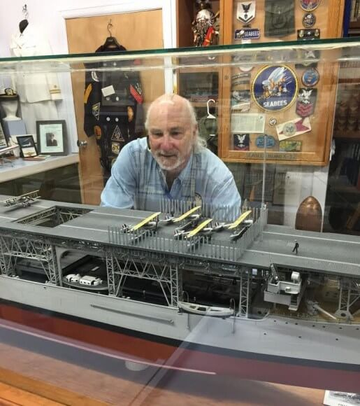 The U.S.S. Langley debuts Friday at the Military History Society of Rochester