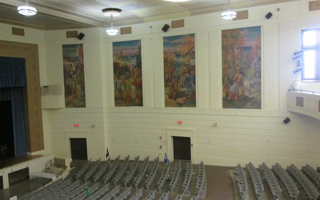 Charlotte High's unparalleled and almost lost murals
