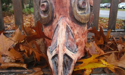 Talker of the Town discovers a Totem pole's missing bird's head!  With help from Nazareth College's Department of Creative Arts Therapy