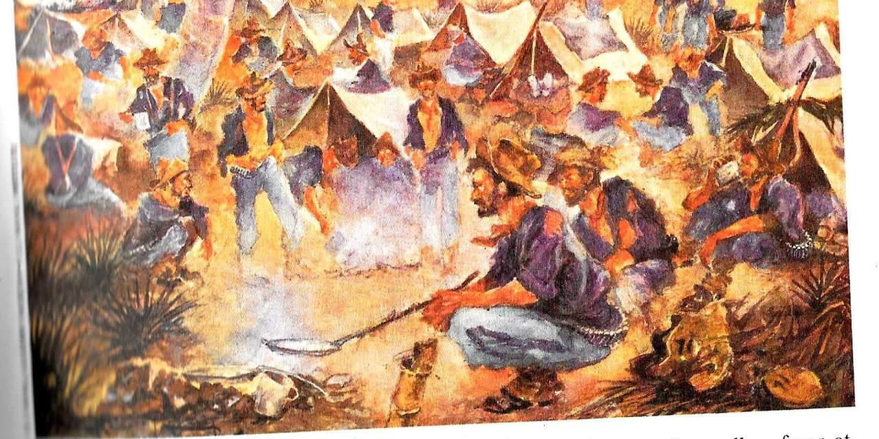"""Mr. Crane's Vivid Story"" (scenes 1 – 10, outside Santiago, Cuba June 1898)"