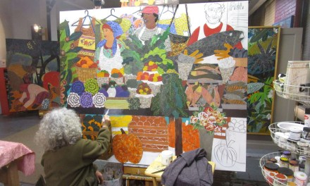 A collage homage to the Public Market with Lynne Feldman