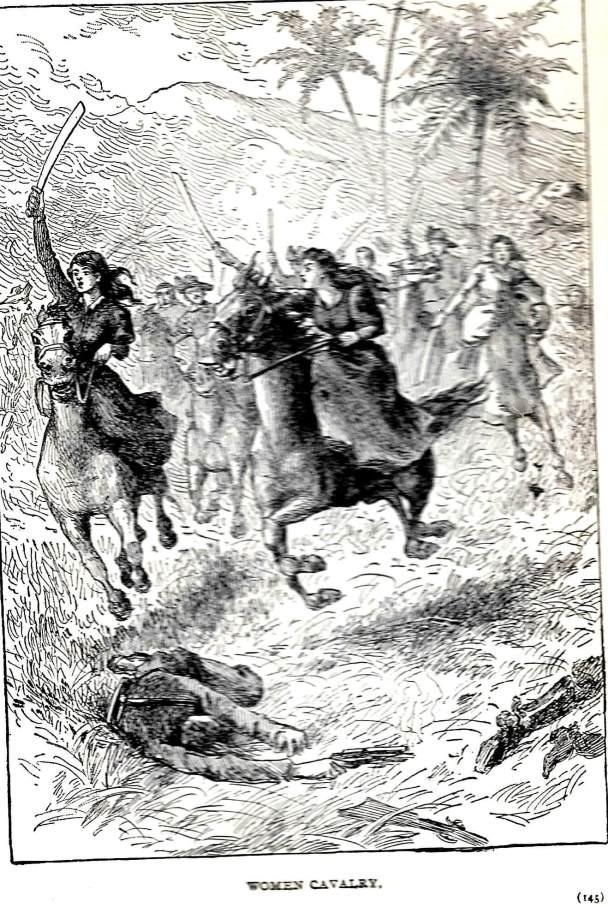 cuban woman cavalry