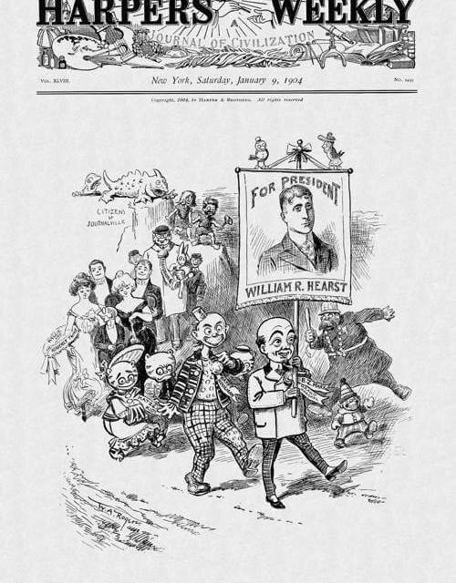 If Donald Trump becomes a footnote in political history, he will become William Randolph Hearst. And maybe Bernie Sanders is William Jennings Bryan