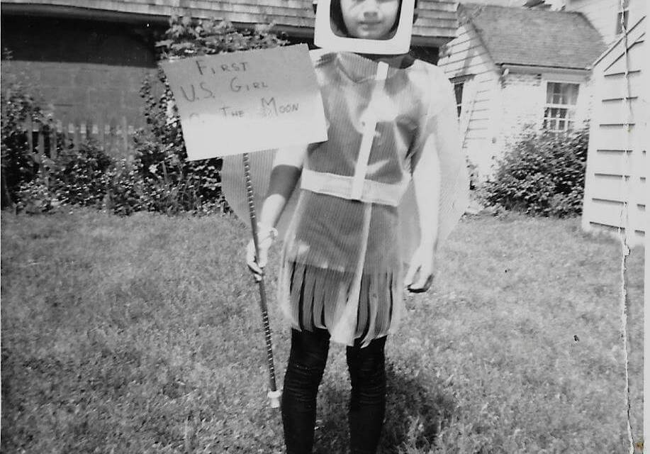 What is a Meadowbrook Parade without the First U.S. Girl On The Moon?